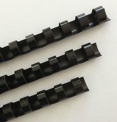916 Plastic Binding Combs - Black - Set Of 25