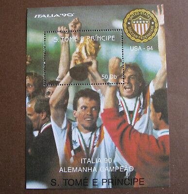 S. TOMÉ E PRINCIPE - ITALIA '90 ALEMANHA CAMPEÃO - USA 94...