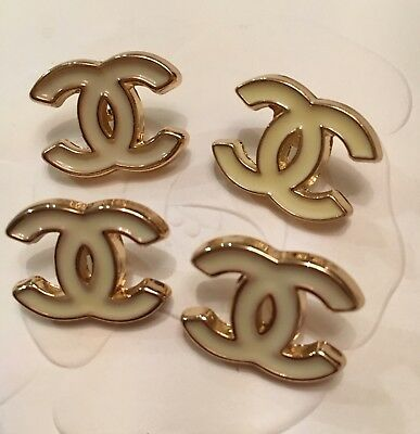 Chanel CC Logo Buttons