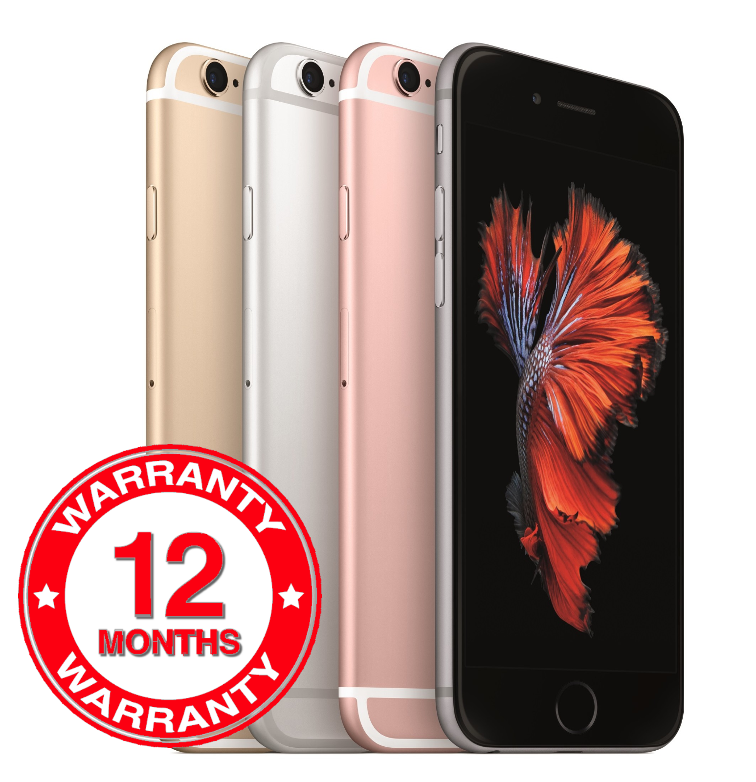 SELLER REFURBISHED APPLE IPHONE 6S - 16GB 64GB 128GB - UNLOCKED SIM FREE SMARTPHONE VARIOUS COLOURS