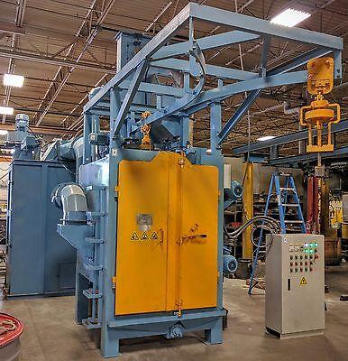 Spinner Hanger Sandblasting Machine Blast Cleaning Equipment Shotblast Systems
