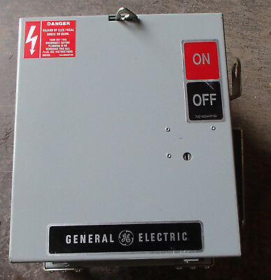 General Electric GE AC361RG Plug Unit 30A 240V 3Ph 4W  NEW Surplus
