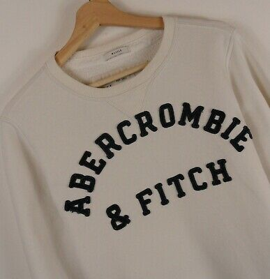 A&F Abercrombie & Fitch Mens Muscle Fit Jumper Size Large Original : LS89
