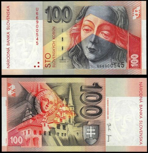 SLOVAKIA 100 KORUN (P44) 2004 UNC