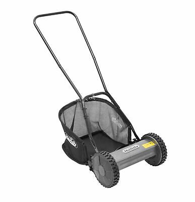 The Handy HM Hand Push Cylinder Lawn Mower 30cm/12in Manual Rear Roller