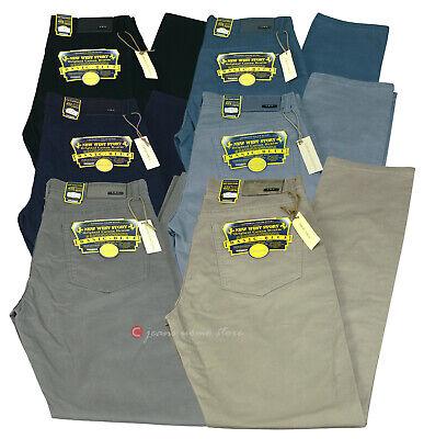 Pantalone uomo mod jeans NEW story 5 tasche COTONE elasticizzato ESTIVO TG 46/88