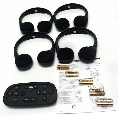 New Wireless Headphones Video Entertainment Escalade Suburban Tahoe Yukon