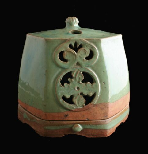 Korean Celadon Incense Burner Koro rare antique