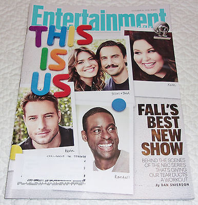 This Is Us Entertainment Weekly Oct 2016 Haley Bennett South Park Rachel Maddow