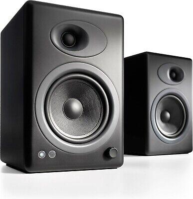 Audioengine A5+ Powered Speakers SATIN BLACK