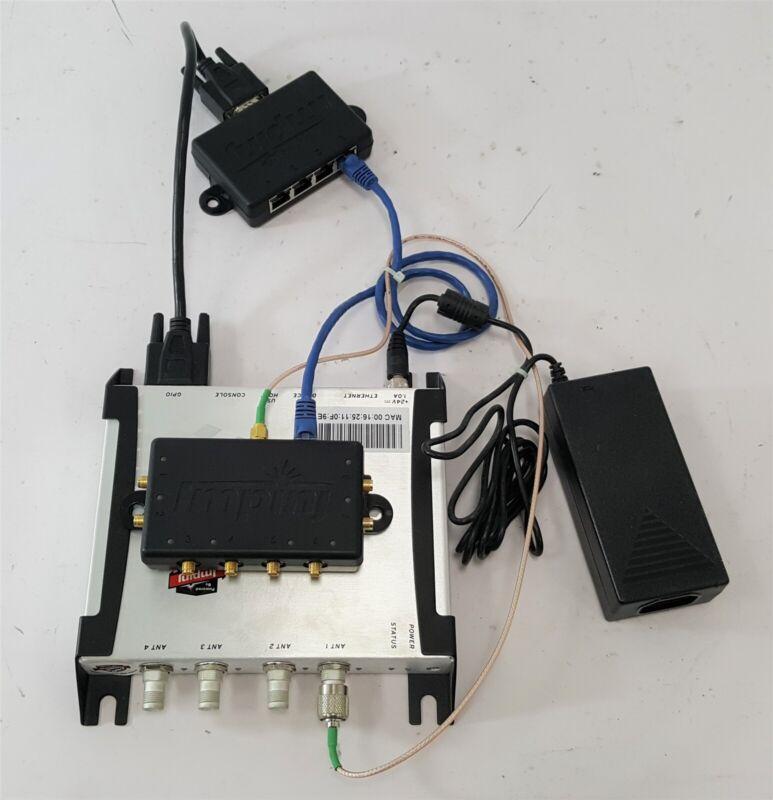 Impinj Speedway Revolution RFID Reader IPJ-REV-R420-USA1M w/A6001 Hub A6051 GPIO