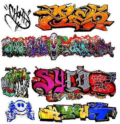 O Scale Custom Graffiti Decals #18 - Weather Your Box Cars, Gondolas & Hoppers!