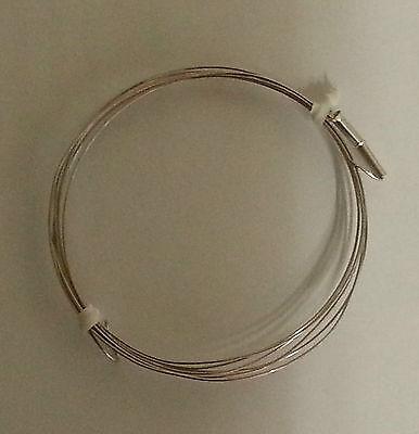 Styroporschneidedraht - Heizdraht 1250 mm Lang mit 2 x Hülsen 2,50€/m