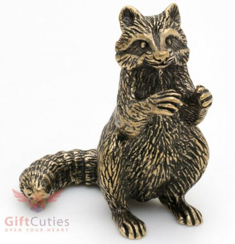 Bronze Figurine of Raccoon