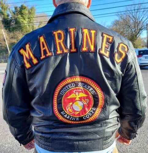 USMC Leather Jacket $100