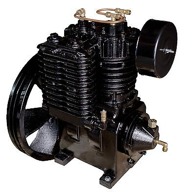 5 Hp Or 7.5 Hp Air Compressor Pump Two Stage 175 Psi Cast Iron 2 Cylinder Pump
