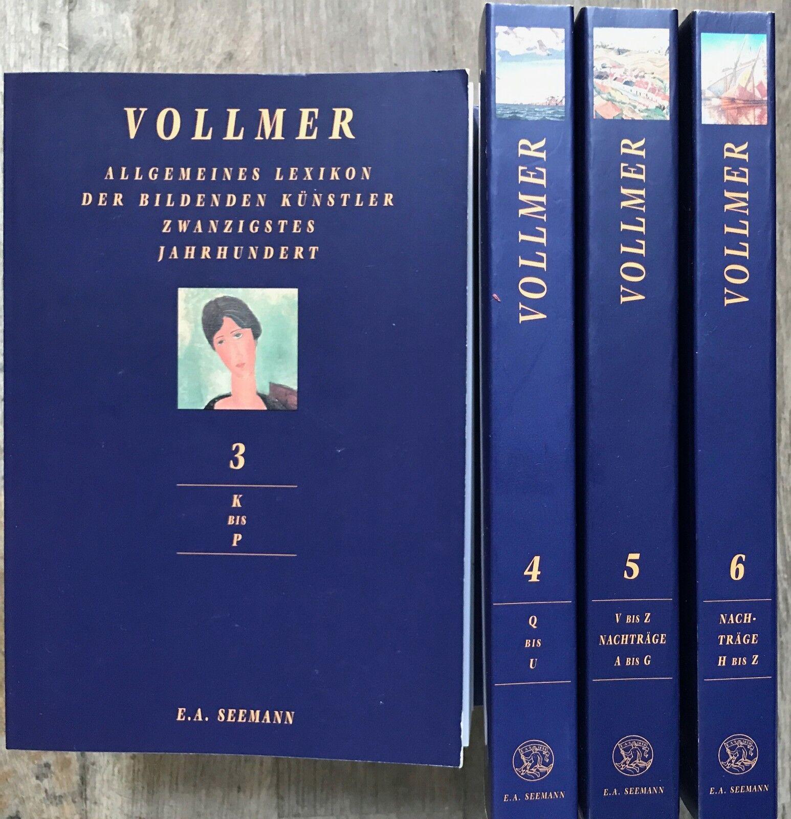 Vollmer Kunstlexikon, Kunst, Nachschlagewerke Kunst, Kunst 20. Jahrhundert.