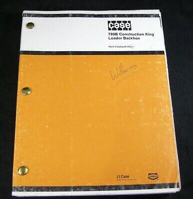 Case 780b Construction King Loader Backhoe Tractor Parts Manual Book Catalog Oem
