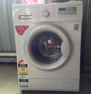 Near New Front Loader Washing Machine For Sale
