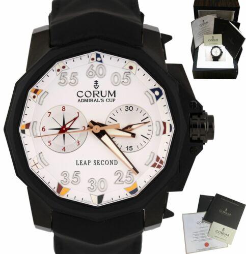 Corum Admiral's Cup Leap Second 48 Chronograph 48mm Black Titanium A895/02944 - watch picture 1