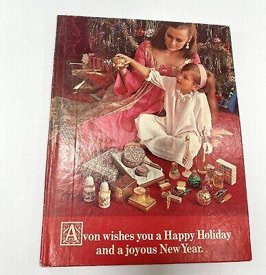 Vintage 60s Avon Hardcover Catalog Holiday Christmas Perfume Powder Make-Up 1967