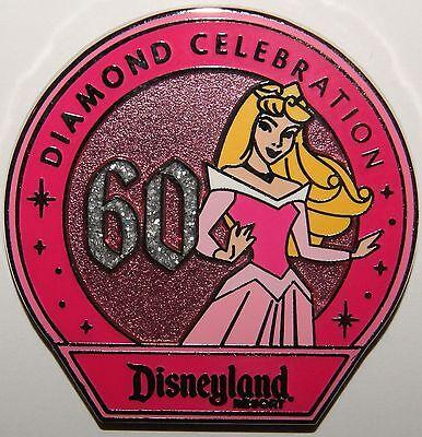 Disney 60th Anniversary Diamond Celebration Princess Mystery Aurora Pin