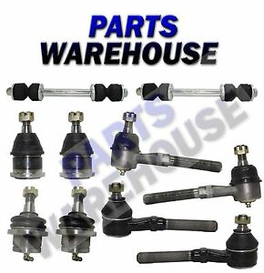 front suspension kit 10 piece 1997 2004 ford expedition f. Black Bedroom Furniture Sets. Home Design Ideas