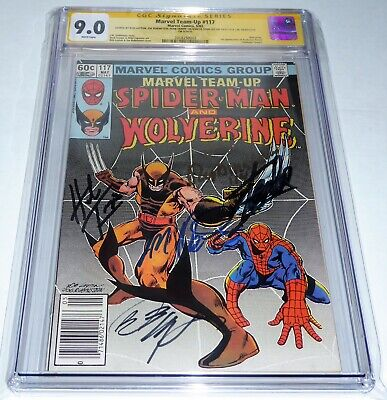 Marvel Team-Up #117 CGC SS 5x Signature Autograph STAN LEE TRIMPE Wolverine Book