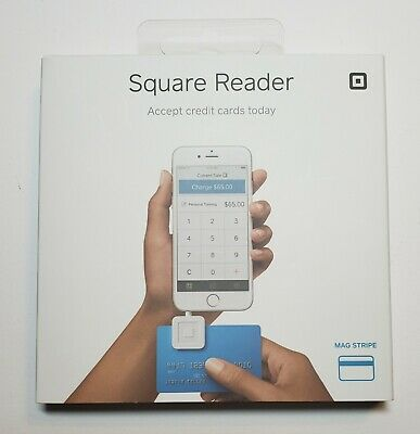 New Square Credit Card Magstripe Reader For Iphone Or Ipad 3565