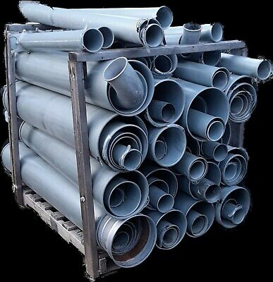 Nordfab Assorted Dust Collection Pipe Dust Gates Elbows Pipe Reduces. 4- 12