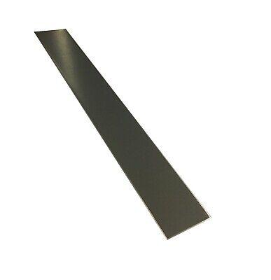 2 X 36 22ga 304 Brushed Stainless Steel Sheet Metal Strip Plate