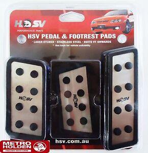 Genuine HSV New Pedal Kit to suit VN VP VR VS VT VX VY Commodore