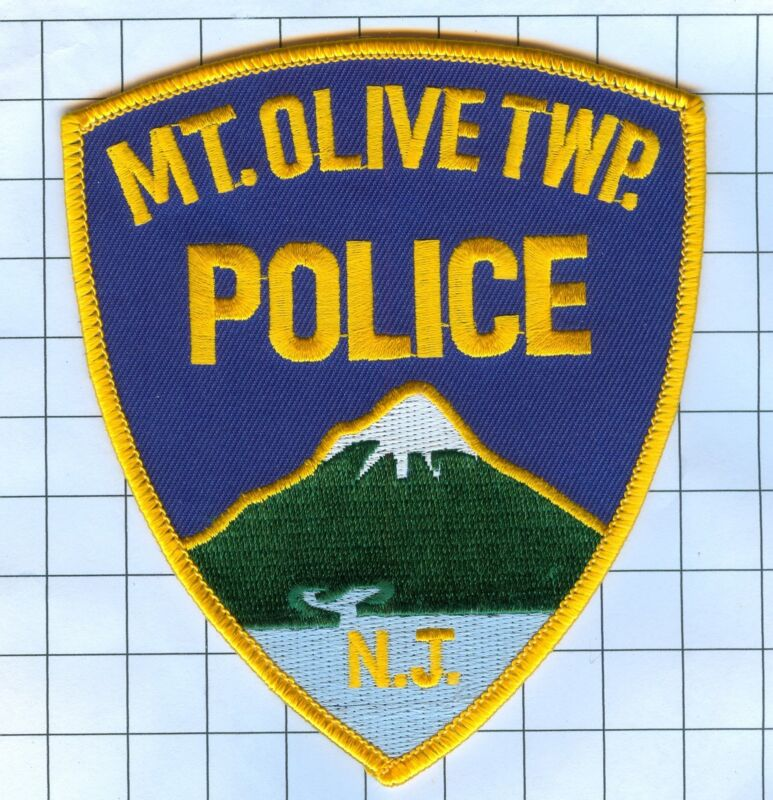 Police Patch  - New Jersey - Mt. Olive Twp.