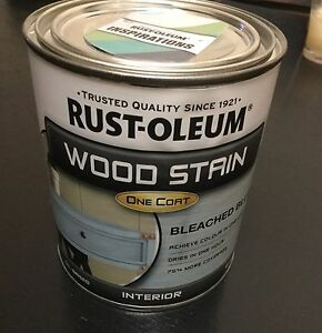 New Never Opened 2 X Tins Of Rust-Oleum Wood Stain One Coat Maryland Newcastle Area Preview