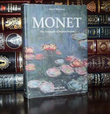 Claude Monet or The Triumph of Impressionism New Sealed  Deluxe Hardcover Gift