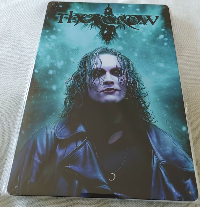 The Crow Movie Poster Style Wall Sign