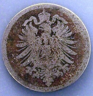 Germany, Empire 10 Pfennig, 1874 A KM#4