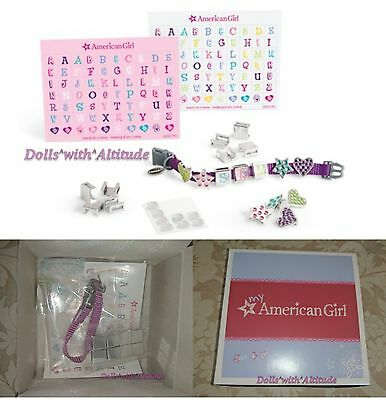 American Girl Charm-ing Pet Collar for toy dog puppy cat kitten NEW IN BOX