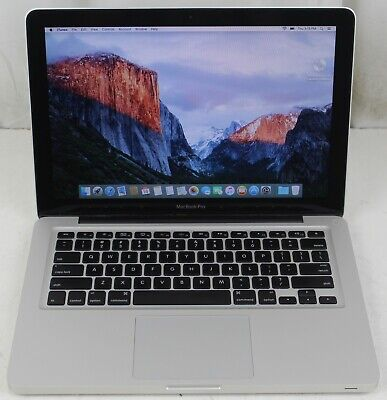 "Apple MacBook Pro 13"" Mid 2009 Core 2 Duo 2.53GHz 4GB RAM 128GB SSD El Capitan"