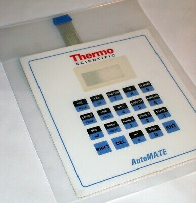 Thermo Scientific 4-0480-419 Keypad Membrane For Automate Gas Flow Computer