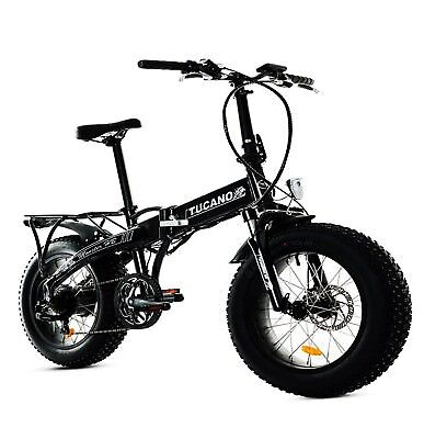 MONSTER 20 HB - Bicicleta Eléctrica Plegable - Suspensión delantera - Motor 250W