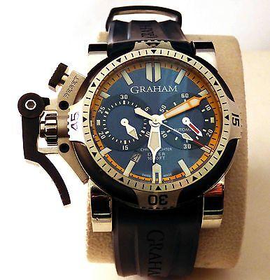 GRAHAM Orange Seal CHRONOFIGHTER CHRONOGRAPH Oversize Ltd Edit W/Watch