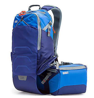 MindShiftGear Rotation 180° Trail Backpack Camera Bag(tahoe blue)1.2 kg