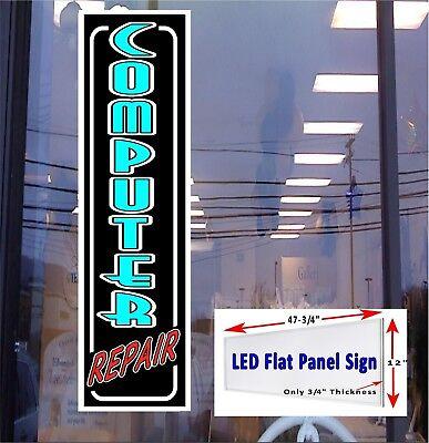 Computer Repair Light Up Light Box Window Sign 48x12