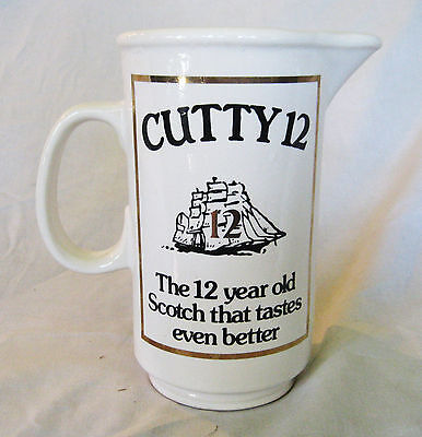 CUTTY SARK PITCHER- 12 YEAR OLD TASTES EVEN BETTER - Buckingham Co.