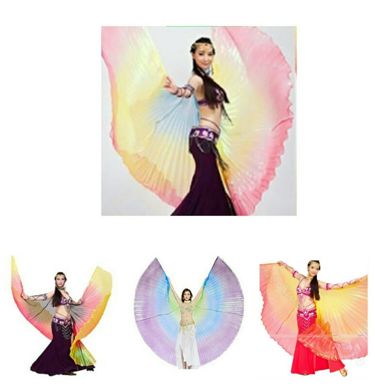 Isis wings Egyptian Belly Dance, close back, Free shipping to USA .