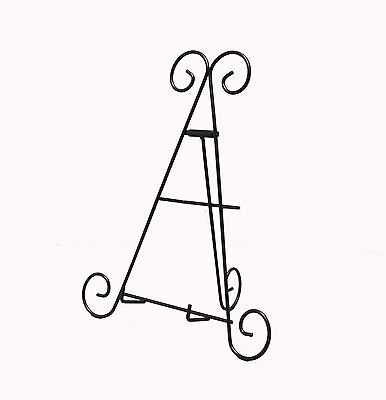 2PK Easel Wire Easel Iron Books Plates Holder Picture Literature Display Stand - Literature Display Stand Wire