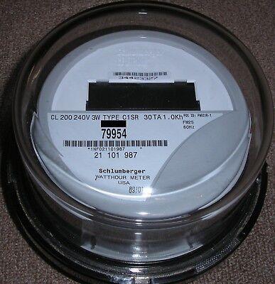 Itron - Watthour Meter Kwh C1sr - Centron - 240 Volts Fm2s 200 Amps 4 Lugs