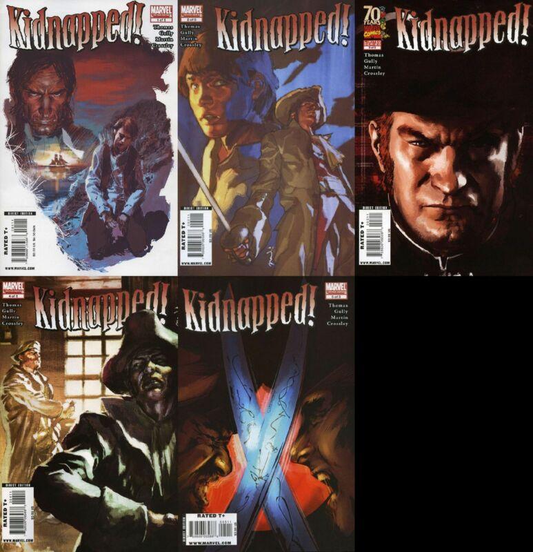 Marvel Illustrated: Kidnapped SET #1-5 VF/NM 2009 Marvel Classics Illustrated