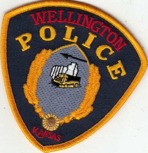 WELLINGTON POLICE PATCH KANSAS KS